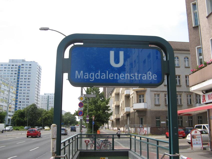 Schlagzeugunterricht Berlin Lichtenberg - U Bahnhof Magdalenenstraße